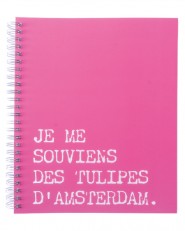Je me souviens des tulipes d'Amsterdam