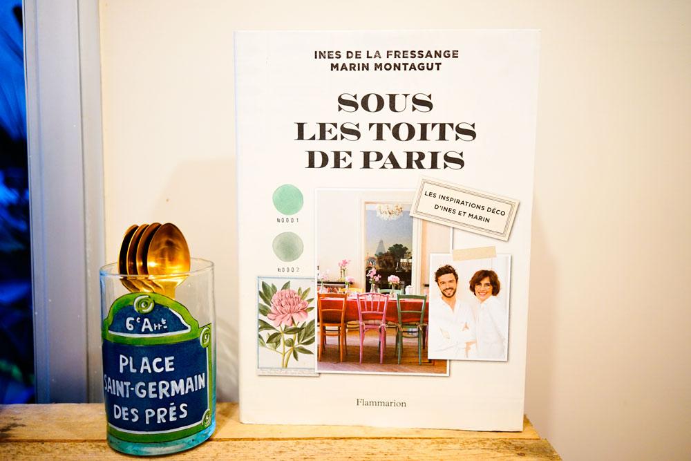 Sous les toits de Paris de Marin Montagut et Inès de la Fressange