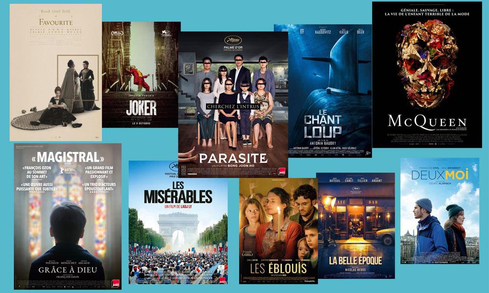 Top 10 des films de l'année 2019