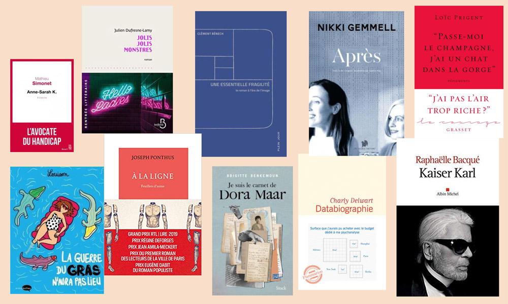 Top 10 des livres de l'année 2019