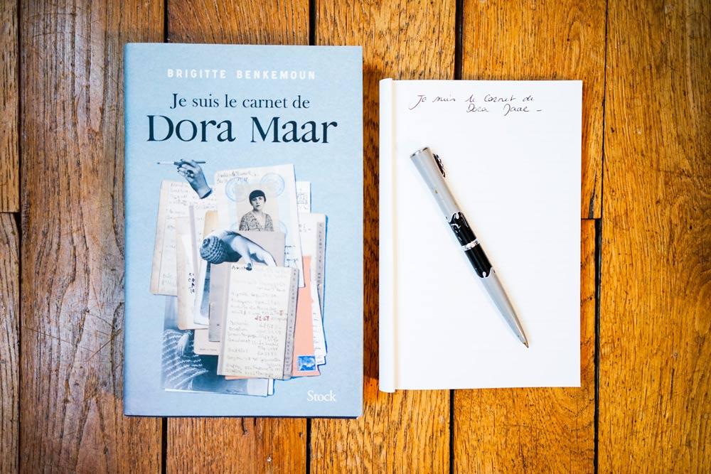 Je suis le carnet de Dora Maar de Brigitte Benkemoun