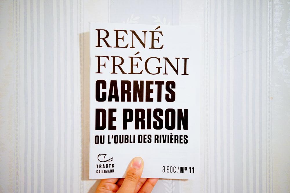 Carnets de prison de René Frégni