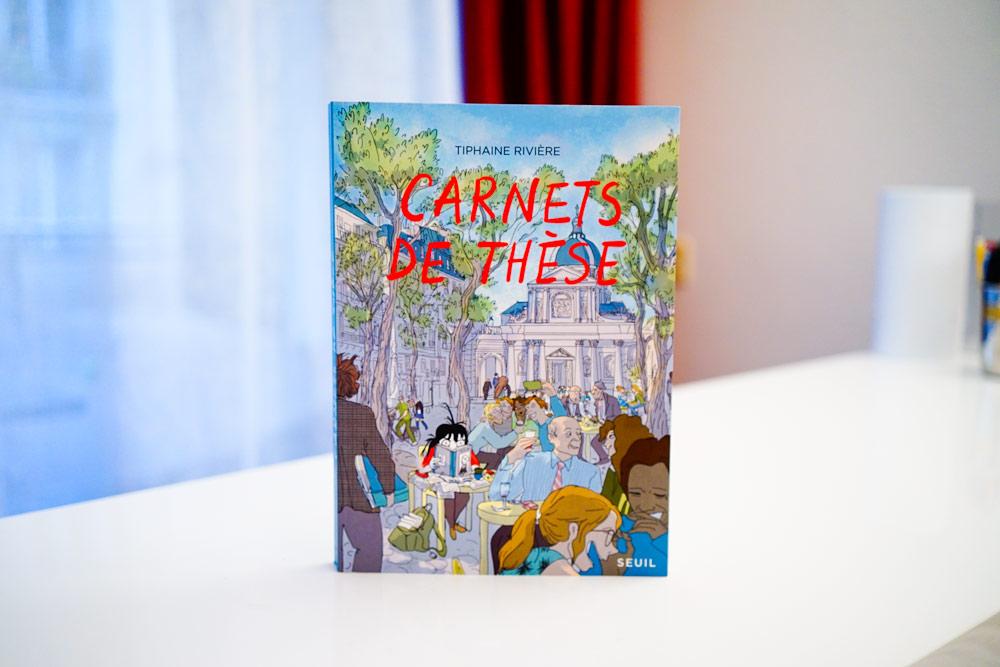 Carnets de thèse de Tiphaine Rivière
