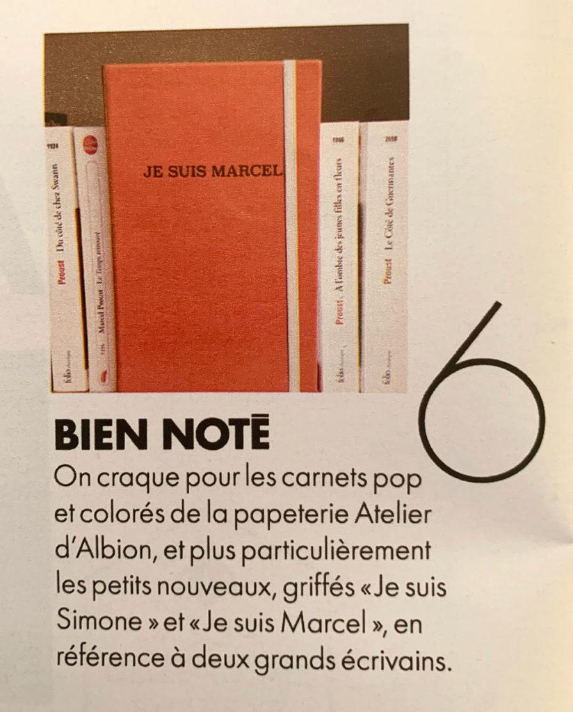 Article du magazine Elle - 31 janvier 2020