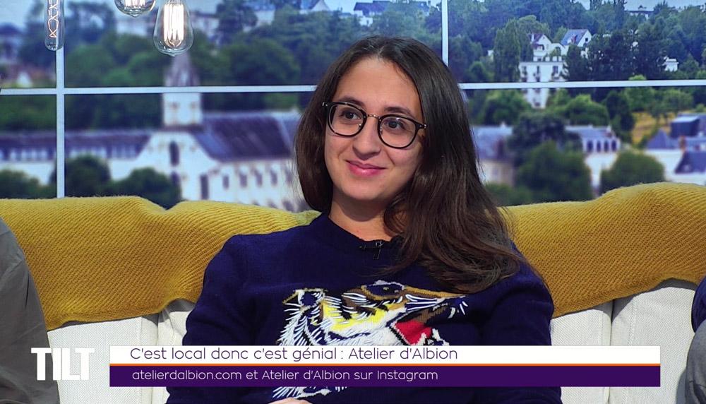 Télévision : Atelier d'Albion sur TV Tours