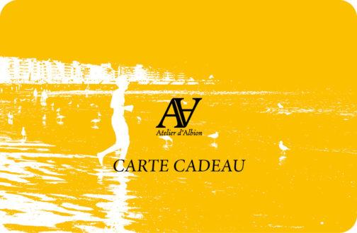 Carte Cadeau Atelier d'Albion